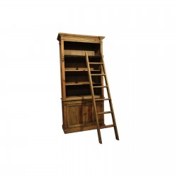 Bibliothèque échelle bois