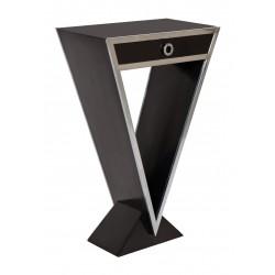 Console Delta 1 tiroir noir