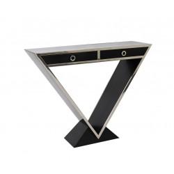 Console Delta 2 tiroirs noir