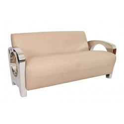 Canapé Sydney cuir beige