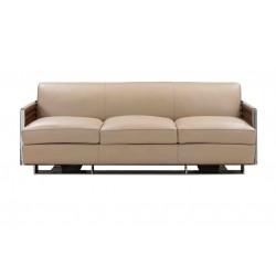 Canapé Torino Cuir beige