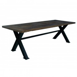 Table repas pieds en X 2m50