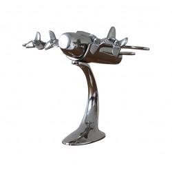 Avion à Hélices en Aluminium