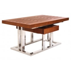 Table basse pirogue