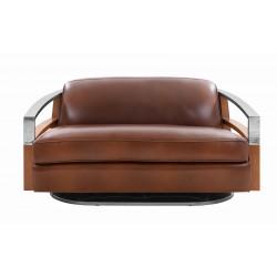 Canapé Madison cuir vintage