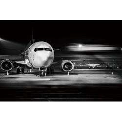 Boeing 737 sur piste