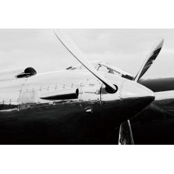 Douglas DC3 noir et blanc