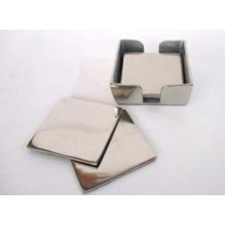 Dessous de verre alu carré