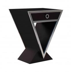 Table d'appoint Delta Noir