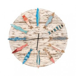 Horloge poissons