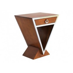 Table d'appoint Delta noyer
