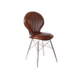 Chaise DC3 cuir vintage