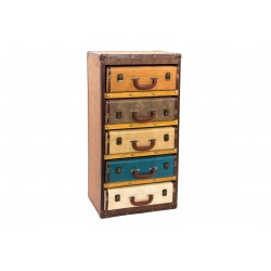 Commodes valisettes couleurs