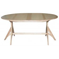 Table scandinave rallonge...