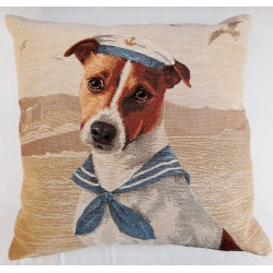 Coussin Chien Marin