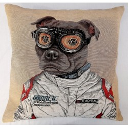 Coussin Racing Dog