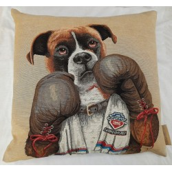 Coussin Boxing Dog