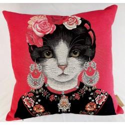 Coussin Earring Cat...