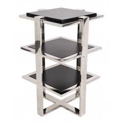 Table d'appoint Elysée cuir