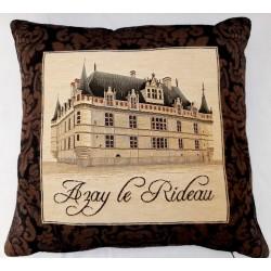 Coussin Chateaux Azay le...