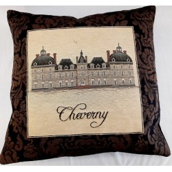 Coussin Chateaux Cheverny