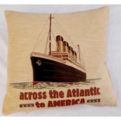 Coussin Titanic Across The...