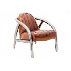 Fauteuil Quad cuir vintage