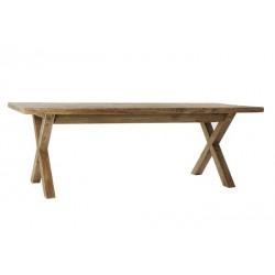 Table repas bois recyclé