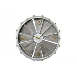 Horloge métal turbine...