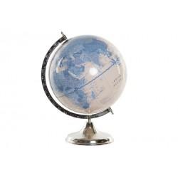 Globe terrestre métal...