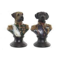 Figurine buste chien résine...
