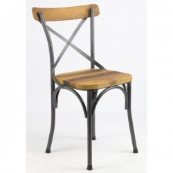 Chaise bistrot palissandre