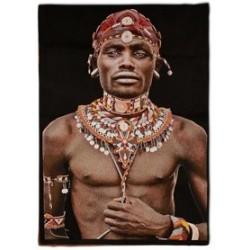 Tenture Samburu homme Kénya...