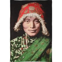 Tenture Femme Tibétaine 95...