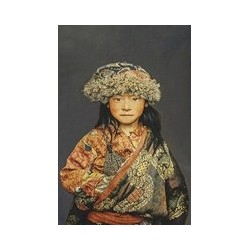 Tenture petite fille tibet...