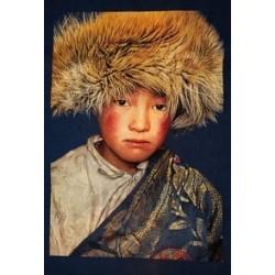 Tenture petit garçons tibet...